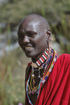 Massai in Stammestracht
